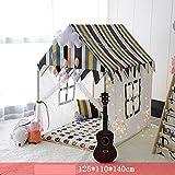 CLX Kinderspielzelt Zur Verwendung Drinnen, Game House, Haushalt Kind Baumwolle Großes Haus Zelt...
