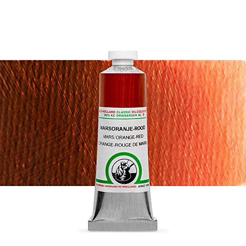 Old Holland Oil 40Ml Mars Orange Red
