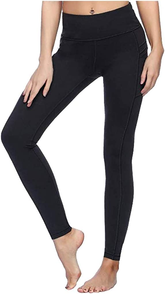 Womens High Waist Yoga Wholesale Safety and trust Pants Leggings with Pockets Sports