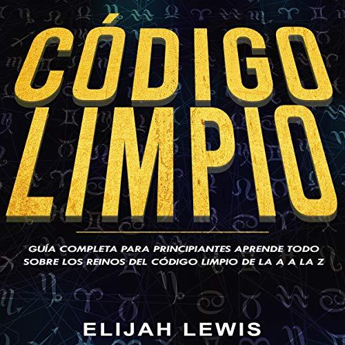 Diseño de la portada del título Código Limpio
