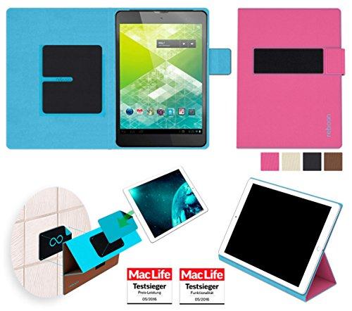 Hülle für 3Q Q-Surf MT7801C Tasche Cover Hülle Bumper | in Pink | Testsieger
