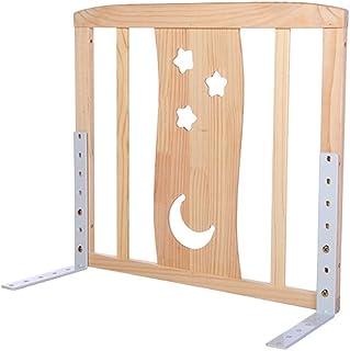 ベッドフェンス 木製フレームベッドレール、幼児の赤ちゃんと子供のための安全ベッドガードレール、ポータブル折りたたみシングルベッド保護ガード、60cm