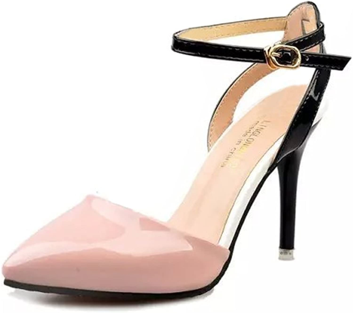 Shallow spring high heel womens shoes Stiletto pointy shoes