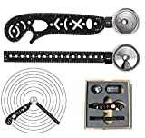 Multi-Function Drawing Tool, EDC Stationery Multi-Function Drawing Architect Scale Ruler All in One Versatile Tool...