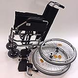 Trendmobil Rollstuhl TMB Faltrollstuhl Transportrollstuhl Reiserollstuhl mit Steckachsensystem Sitzbreite 45 cm - 3