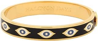 Evil Eye Midnight Blue & Gold Bangle #HBEVE1110G