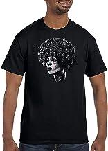 Dazzle T-shirt Hombres Angela Davis Entiende Negro Retrato Moda Novedad Camiseta
