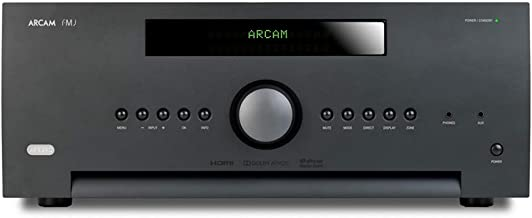 Arcam AVR390 7.2-Channel Home Theater Receiver with IMAX Enhanced Certification and DTS Master-HD