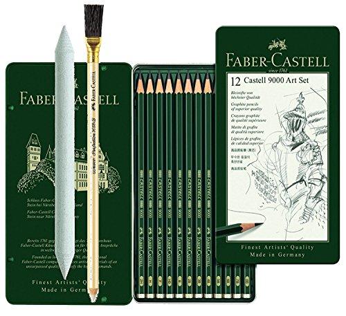 Faber-Castell 119063lápiz Castell 9000, 1