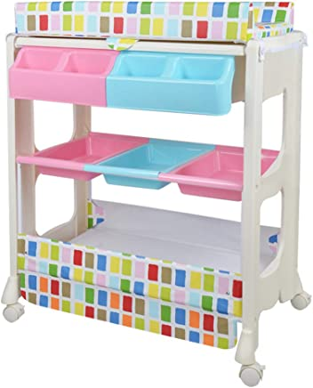 Unique Design Practical Baby Changing Diaper Table Massage Care Table  Bathing Station  Available Three Colors