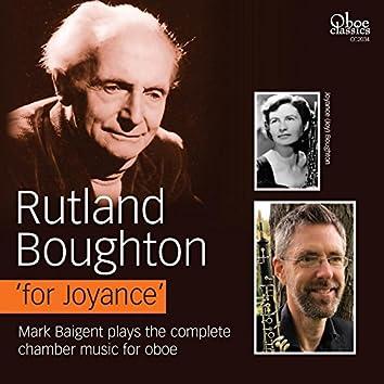 Rutland Boughton 'for Joyance'