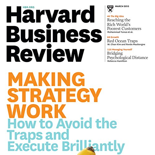 Harvard Business Review, March 2015 audiobook cover art