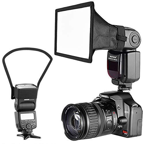 BAN SHUI JU MINSU GUANLI Kit Diffusore Riflettore Softbox Speedlite per Fotocamera Compatibile per Canon Nikon Altre Fotocamere DSLR Flash TT560 Durevole E Flessibile