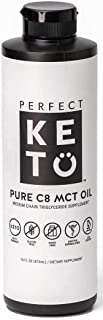 Perfect Keto Rapid Energy Pure MCT Oil: Ketogenic Coconut Oil Supplement. 100% Pure MCT Oil | Ketones Best as Ketogenic Di...