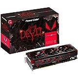 Powercolor Axrx Vega 64 8Gbhbm2-2D2H/Oc - Tarjeta Grafica, Color Negro