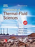 Fundamentals Of Thermal Fluid Sciences, 4 Ed