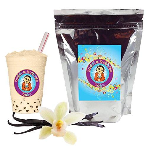 Vanilla Boba / Bubble Tea Drink Mix Powder By Buddha Bubbles Boba 10 Ounces (283 Grams)