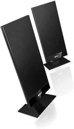 KEF Satellite Speaker (T101 Pair Pack Black)