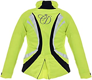 Equisafety Charlotte Dujardin Volte Waterproof Jacket Yellow Adult Small