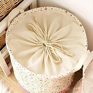MJY Panier à linge en coton coton panier sale Panier de rangement pour vêtements sales pour boîtes de rangement pour jouet...