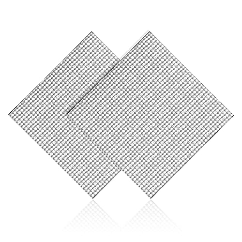 Cnloyua 2 pezzi 300 X 300 mm stampante 3D letto termico piattaforma isolante per Anycubic i3 Mega , Creality Ender 3 , Ender 5 , Anet A8 , Lulzbot Taz CR10