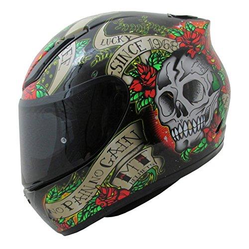 MT Venganza Cascos Integrales de Moto Motocicleta Bicicleta