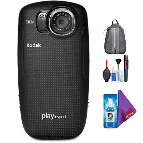 Read About Kodak PLAYSPORT Zx5 Video Camera (Black) + Pro Accessories Bundle