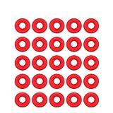 25 pezzi Guarnizioni Grolsch Guarnizioni Grolsch in gomma siliconica Rondelle Tappo EZ Guarnizioni per bottiglie Altalena Sigilli per bottiglie da birra Birra fatta in casa Guarnizione per bottiglie