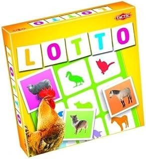 Farm Animals Lotto Game