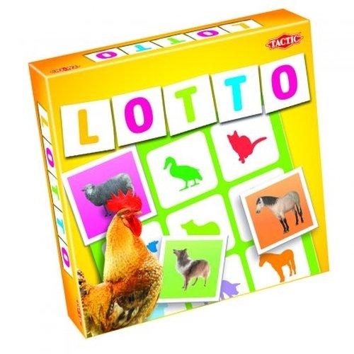 Farm Animals Lotto Game Tactic - Tombola degli Animali, Gioco in Scatola