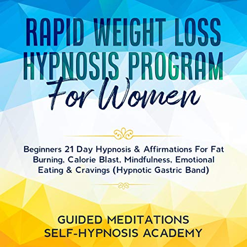 Rapid Weight Loss Hypnosis Program for Women cover art