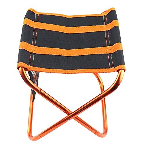 L-YG Silla de Camping portátil, Tabla Portable de Camping con Aluminio sobre la Mesa, Plegable con Tapa de Tabla Duro en una Bolsa for Picnic, Campo, Playa, útil for Comedor, de Corte