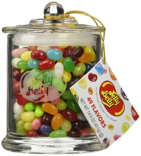 Jelly Belly Classic Glass Jar - 49 Assorted Flavors