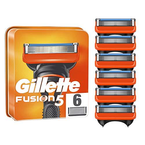 Gillette Fusion5 - Cuchillas de afeitar para hombre (6 unidades)
