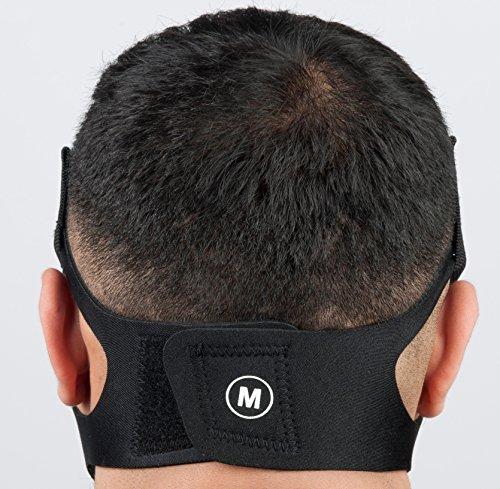 Phorb Training Mask schwarz Größe m Atemmaske für Crossfit Trainingsmaske steigert Ausdauer Fitness Kondition ähnelt Höhentraining - 3