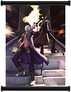 Devil May Cry Anime Fabric Wall Scroll Poster (31x45) Inches. [WP]-Devil May Cry- 34(L)