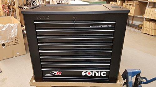 Sonic 764411 Werkstattwagen S11 komplett gefüllt 644tlg Rollbarer Werkzeugkasten