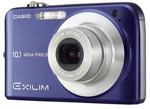 Casio Exilim EX-Z1050 - Cámara Digital Compacta 10.1 MP - Azul (2.6 Pulgadas LCD, 3X Zoom Óptico)