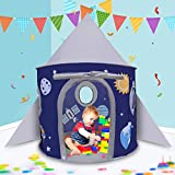 Hairy nose bear RocketShipPlayTent for Boys,Playhouses for Kids Oudoor Or Indoor Pop Up Play Tents ,Best Gift for Castle Kids Tent