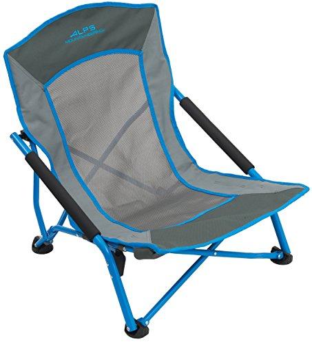 ALPS Mountaineering Rendezvous Chair, Ocean/Charcoal (8013941)