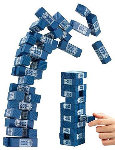 Funko DW01063 Doctor Who Tumbling Tardis Tower Game