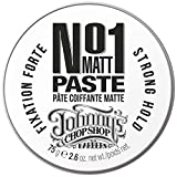 Johnny's Chop Shop #1 Men's Hair Styling Matte Paste Pro-Quality Strong Hold, Natural Look, 2.60 oz (Pack of 1)