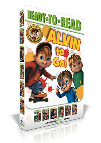 Alvin to Go!: Alvin and the Superheroes; The Best Video Game Ever; The Campout Challenge; Alvins New Friend; Simon in Charge!; The Fun Dad (Alvinnn!!! and the Chipmunks)