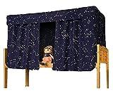 YJZQ Etagenbett Moskitonetz Hochbett Spielbett Bettvorhang Lichtdicht Vorhang Insektennetz Mückenschutz für Studentenwohnheim Kinderzimmer, 1.2 x 2.0 M(2pcs)