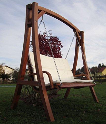 ASS Design Hollywoodschaukel 'KUREDO 103OD' aus Holz Lärche von - 3