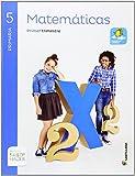 MATEMATICAS 5 PRIMARIA SABER HACER(3 unidades) - 9788468010663...