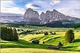 Poster 60 x 40 cm: Seiser ALM Südtirol von Achim Thomae -