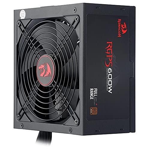 Fonte Gamer Redragon RGPS 600 Watts 80 Plus Bronze