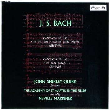 Bach, J.S.: Cantatas Nos. 56 & 82