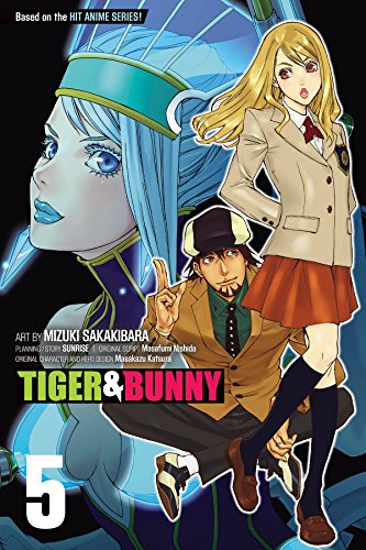 TIGER & BUNNY GN VOL 05 (Tiger and Bunny, Band 5)